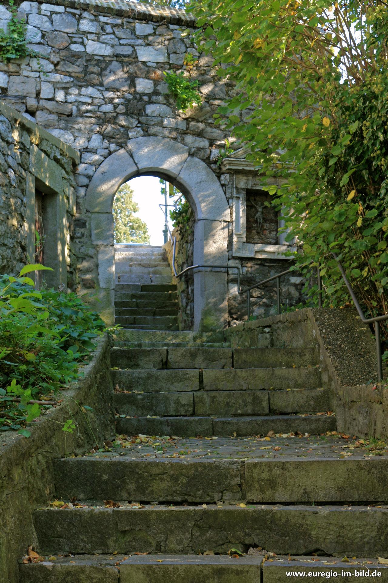 treppe zur bergkirche st stephanus kornelim nster. Black Bedroom Furniture Sets. Home Design Ideas