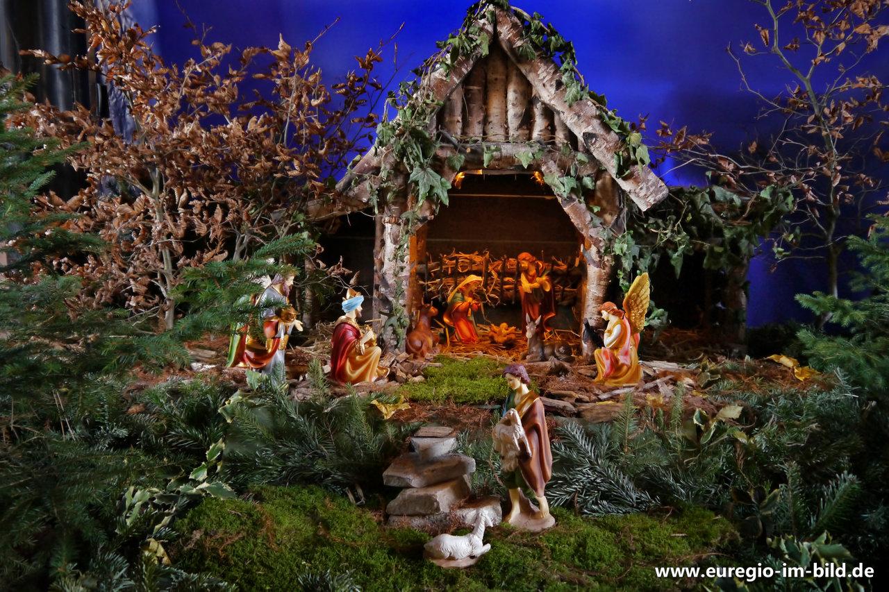 Weihnachtsmarkt Schloss Merode.Weihnachtskrippe Schloss Merode Euregio Im Bild
