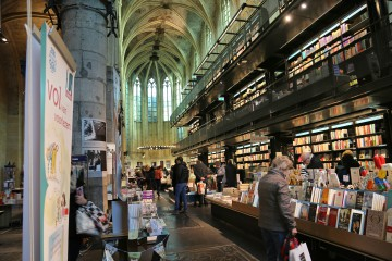 Der Bookstore Dominicanen in Maastricht